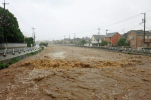 榎川 動画映像 氾濫場所 広島県府中町 現在 避難情報