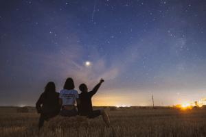 みずがめ座η流星群 2019 方角 見頃 ピーク 時間 観測 場所