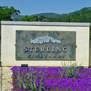 Sterling Vineyards sign