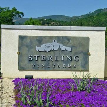 Sterling Vineyards sign