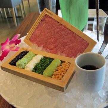 Toro Tartare at Morimoto Napa