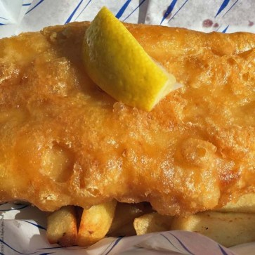 Fish and Chips at Castle Cod - Windsor, England