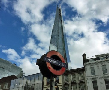 Shard and Underground - London, England