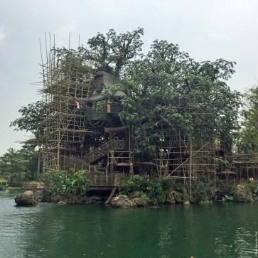 Tarzan's Treehouse in Adventureland - Hong Kong Disneyland, Hong Kong, China