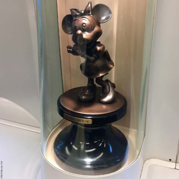 Statue of Minnie Mouse on the train for the Hong Kong Disneyland Resort Line - Hong Kong, China