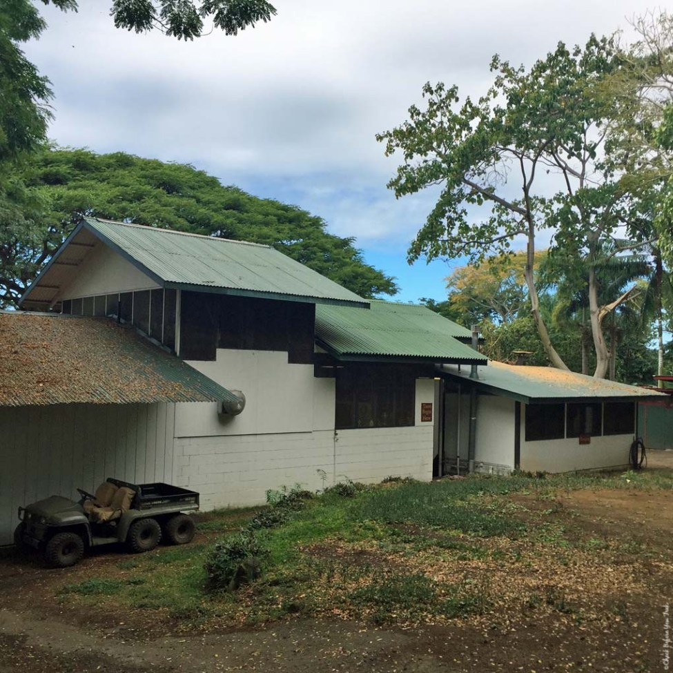 Building for the operation of coffee roasting and visitor store for Holualoa Kona Coffee Company - Holualoa, HI
