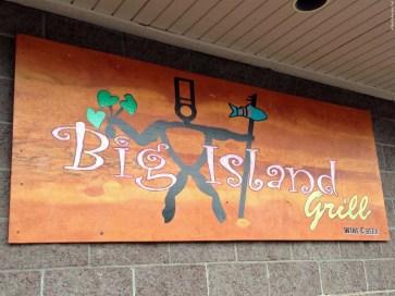 Sign for Big Island Grill - Kailua-Kona, HI