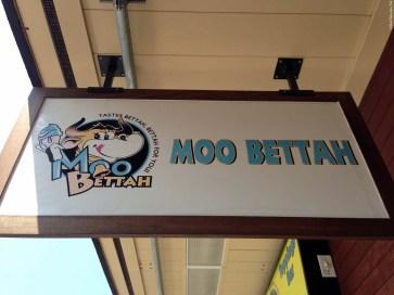 Moo Bettah sign - Kailua-Kona, HI