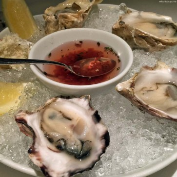 Oysters at Blue Water Cafe in Yaletown - Vancouver, British Columbia, Canada