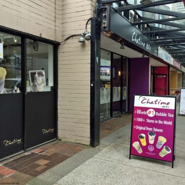 Chatime in Downtown - Vancouver, British Columbia, Canada