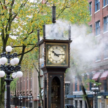 Gastown Steam Clock - Vancouver, British Columbia, Canada