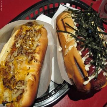 Hot Dogs at Japadog - Vancouver, British Columbia, Canada
