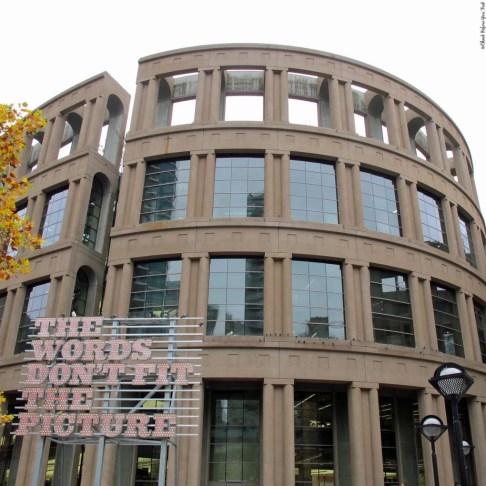 Vancouver Public Library, Central Location - Vancouver, British Columbia, Canada