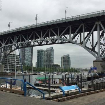 Aquabus at the Granville Island dock - Vancouver, British Columbia, Canada