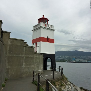 Brockton Point Lighthouse in Stanley Park - Vancouver, British Columbia, Canada