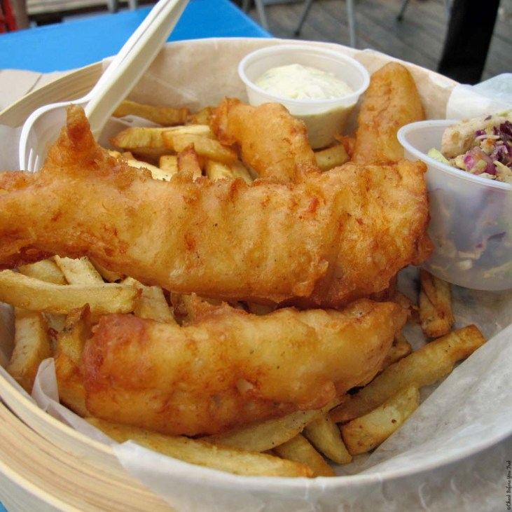 Fish and Chips at Go Fish - Vancouver, British Columbia, Canada