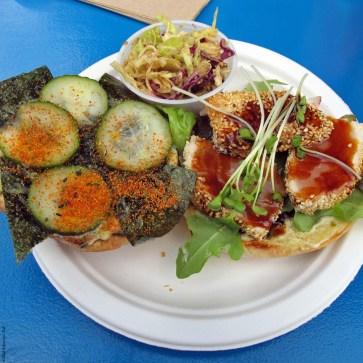 Fish Sandwich at Go Fish - Vancouver, British Columbia, Canada