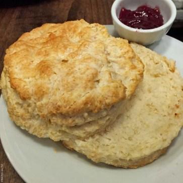 Biscuit at Jam Cafe - Vancouver, British Columbia, Canada