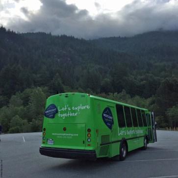 Gray Line Tour Bus - British Columbia, Canada