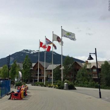 Whistler Olympic Plaza - Whistler Village, Whistler, British Columbia, Canada