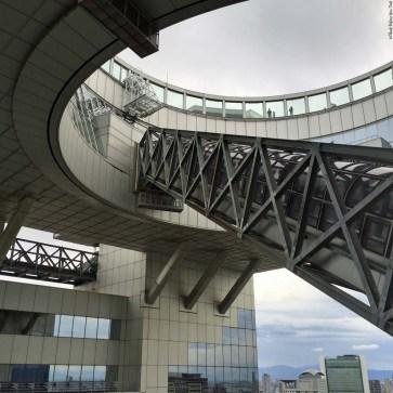 Umeda Sky Building escalator - Osaka, Japan