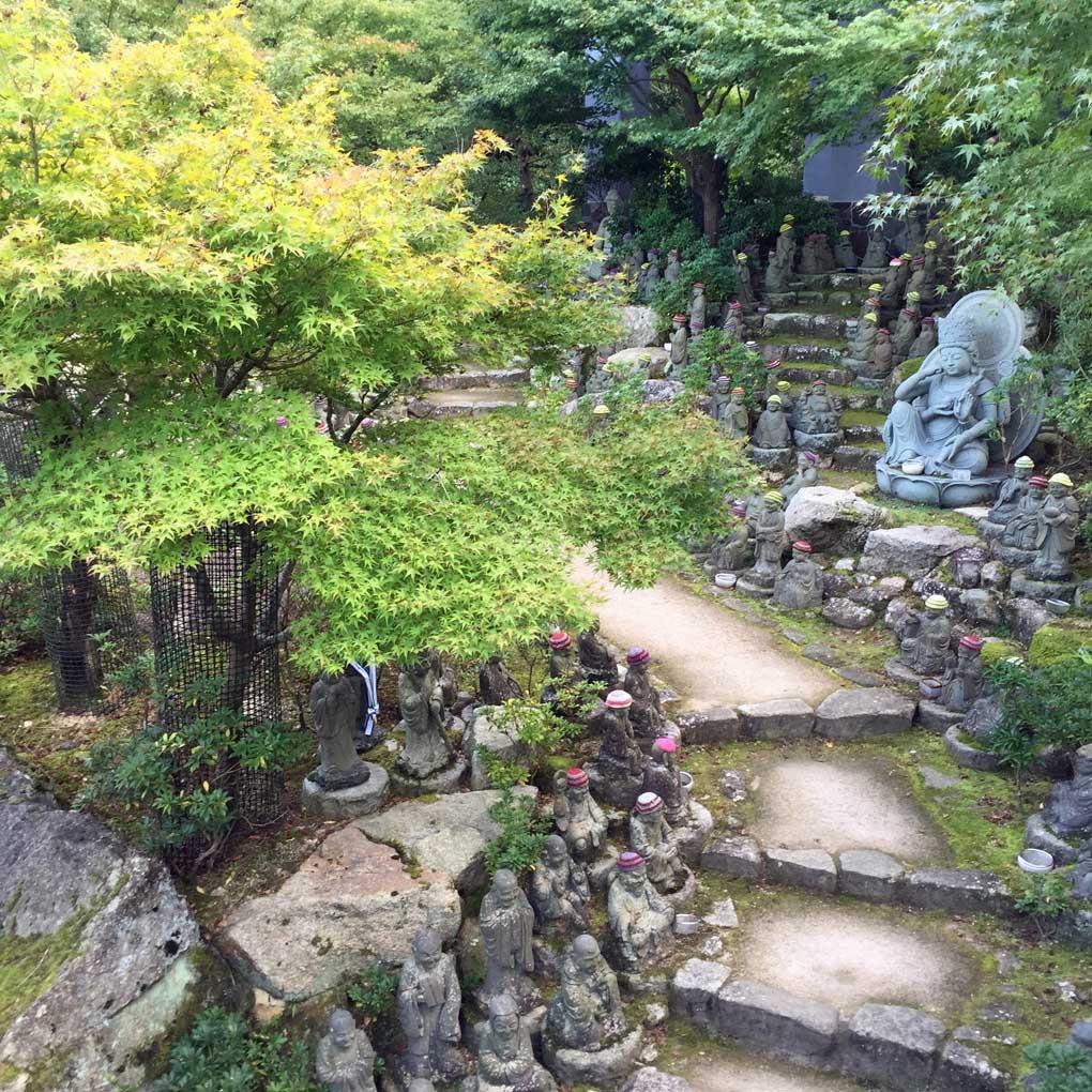 Daishoin Temple grounds - Miyajima Island, Itsukushima, Japan