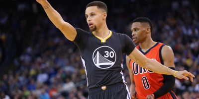 Stephen Curry Russell Westbrook