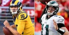 NFL Week 14 Picks: Battle Between Goff & Wentz Headlines Sunday Slate