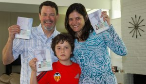 Excited to have our Visas for Spain