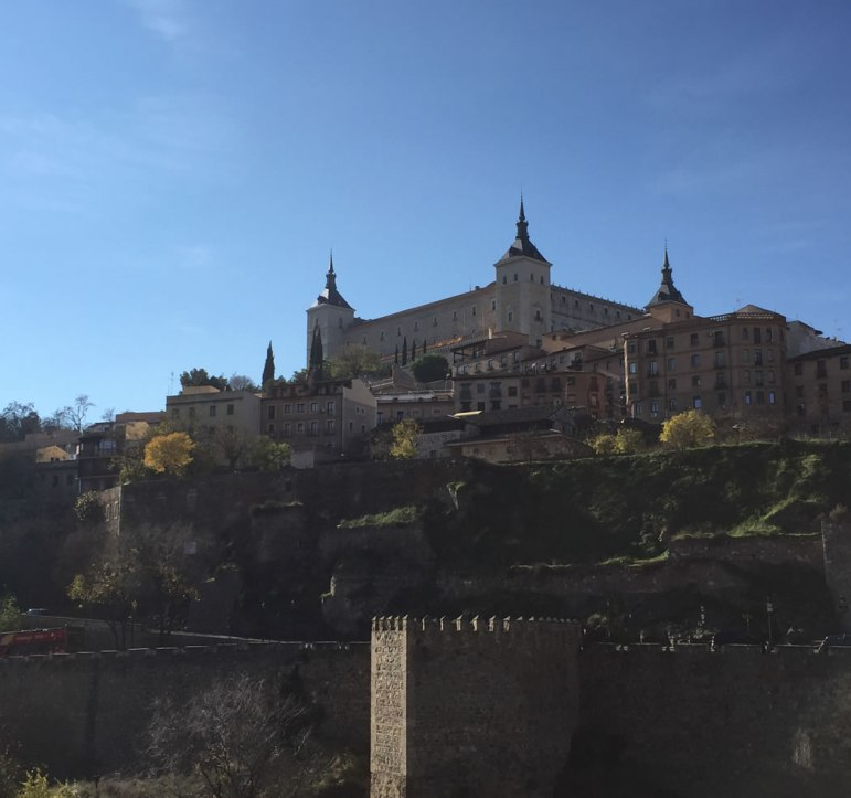 Alcazar in Toledo Spain