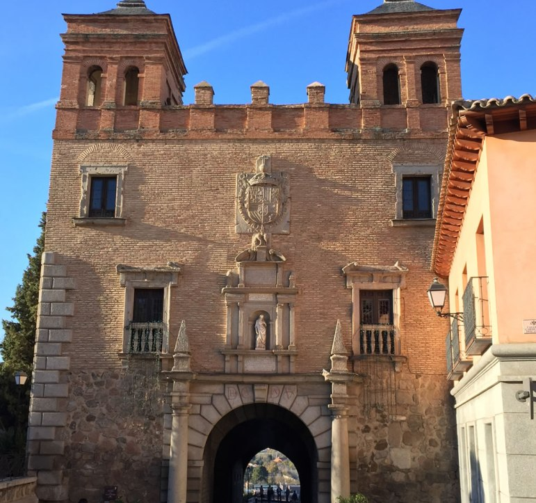 ancient city gate in Toledo Spain