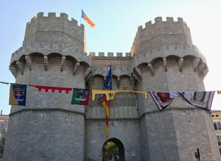 Torres de Serranos on 9 November