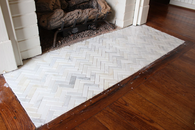 how to remove quarry tile level new tiles
