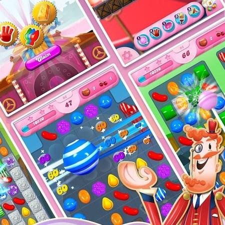 Puzzling Challange Candy Crush saga mod APK