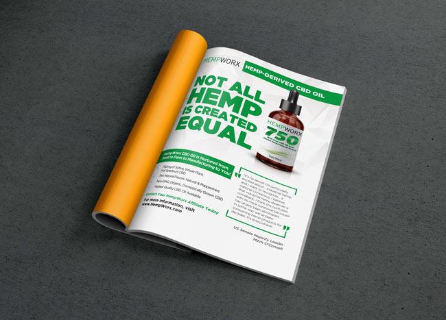 hempworx thrive magazine ad � check my designs