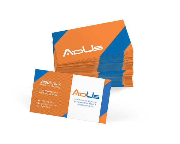 Ad Agency Business Card Design