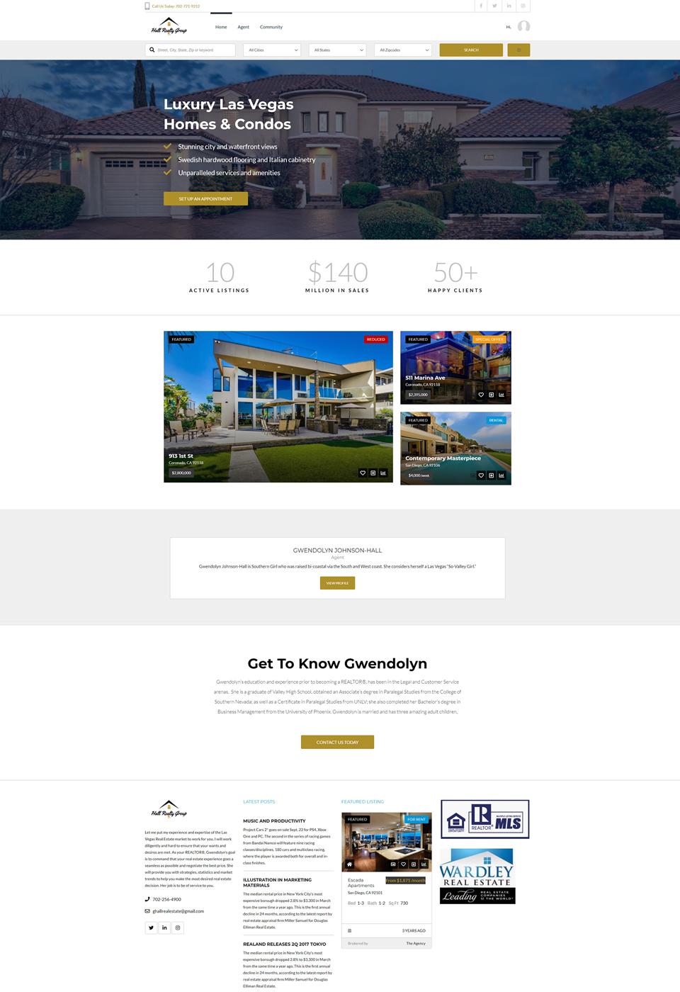 Hall-Real-Estate-HomePage