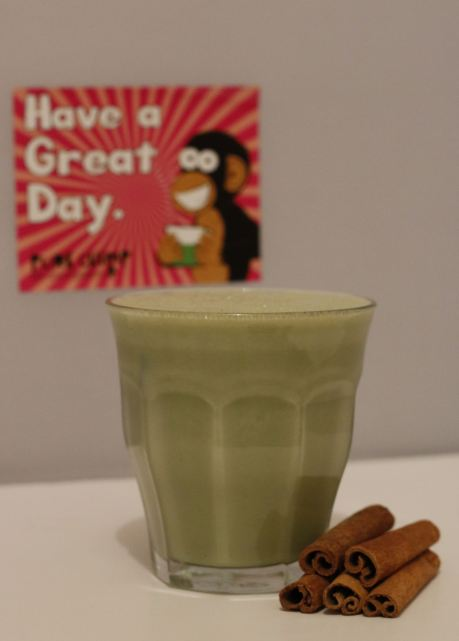 Pure Chimp matcha powder Baileys drink