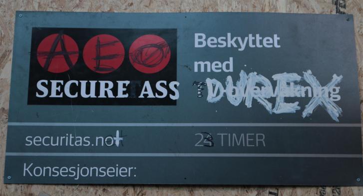 Oslo street art - Brenneriveien