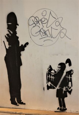 Street art Crete