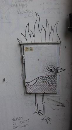 Street art Olomouc Czech Republic