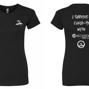 I Survived COVID Womens Cut | Checkride Prep Shirts
