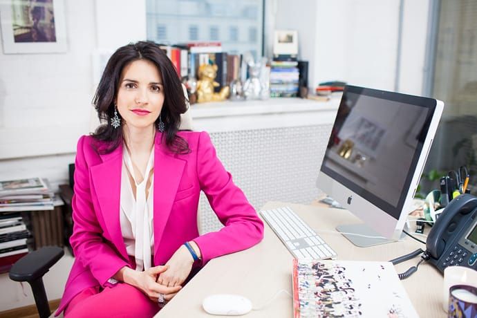 Современный digital-редактор - на фото Ксения Соловьева - главный редактор Tatler