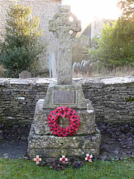 War Memorial, Lower Chedworth