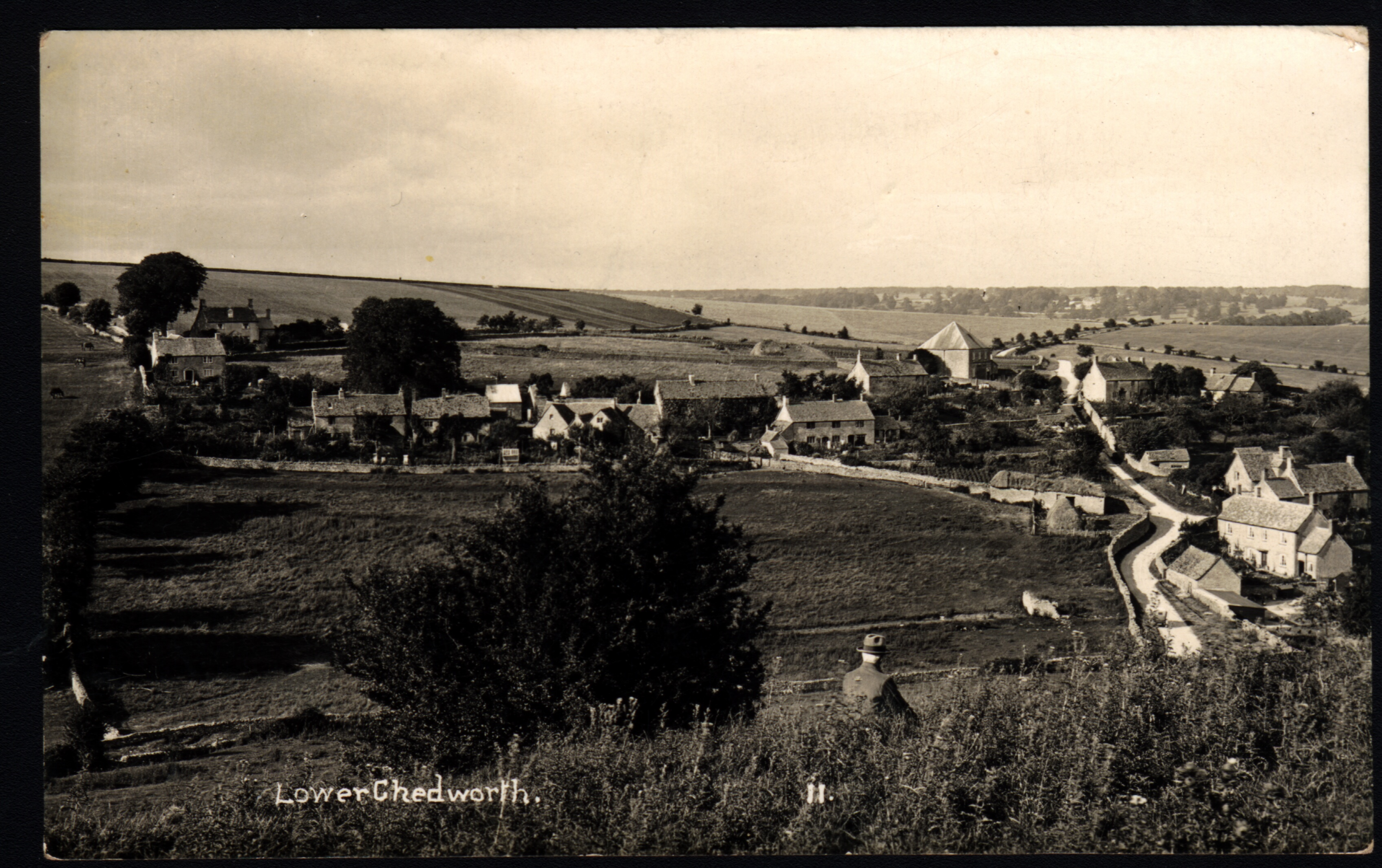 Andrew Collett's great grandfather and family lived in Chedworth mid 19th century to early 20th and this postcard has been passed down.