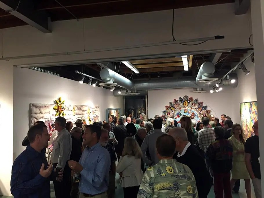 Opening Reception at Time4Art Chicano Art Exhibit featuring artwork from the Cheech Marin collection
