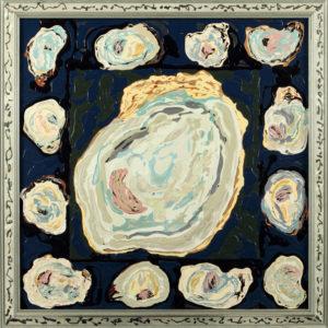 Baker's Dozen hispanic artwork by Melesio Casas from the Cheech Marin collection