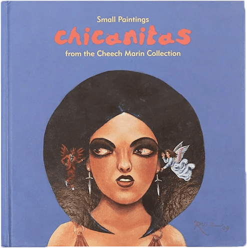 Chicanitas small paintings from Cheech Marin's hispanic art collection