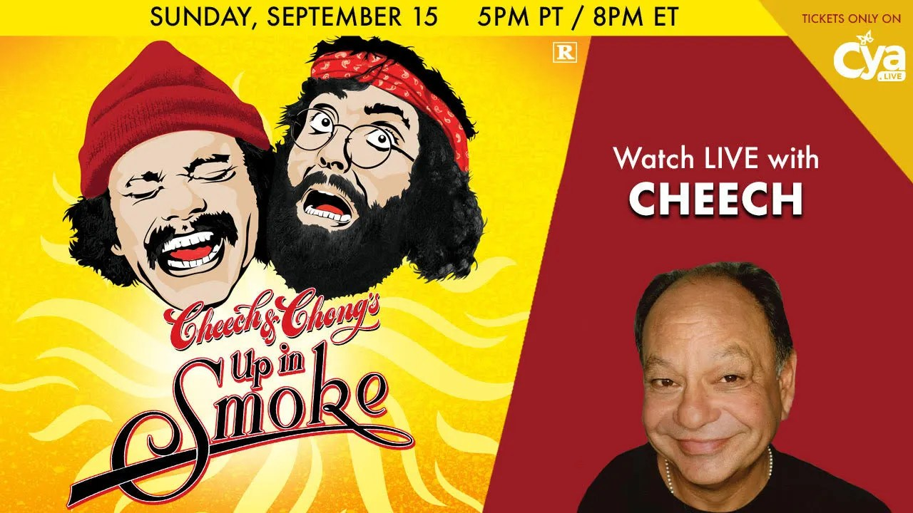 CYA Live Up In Smoke Watch Party with Cheech