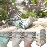 Sirena Bed and Canopy